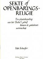 Sekte of Openbaringsreligie