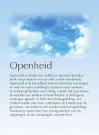 Openheid