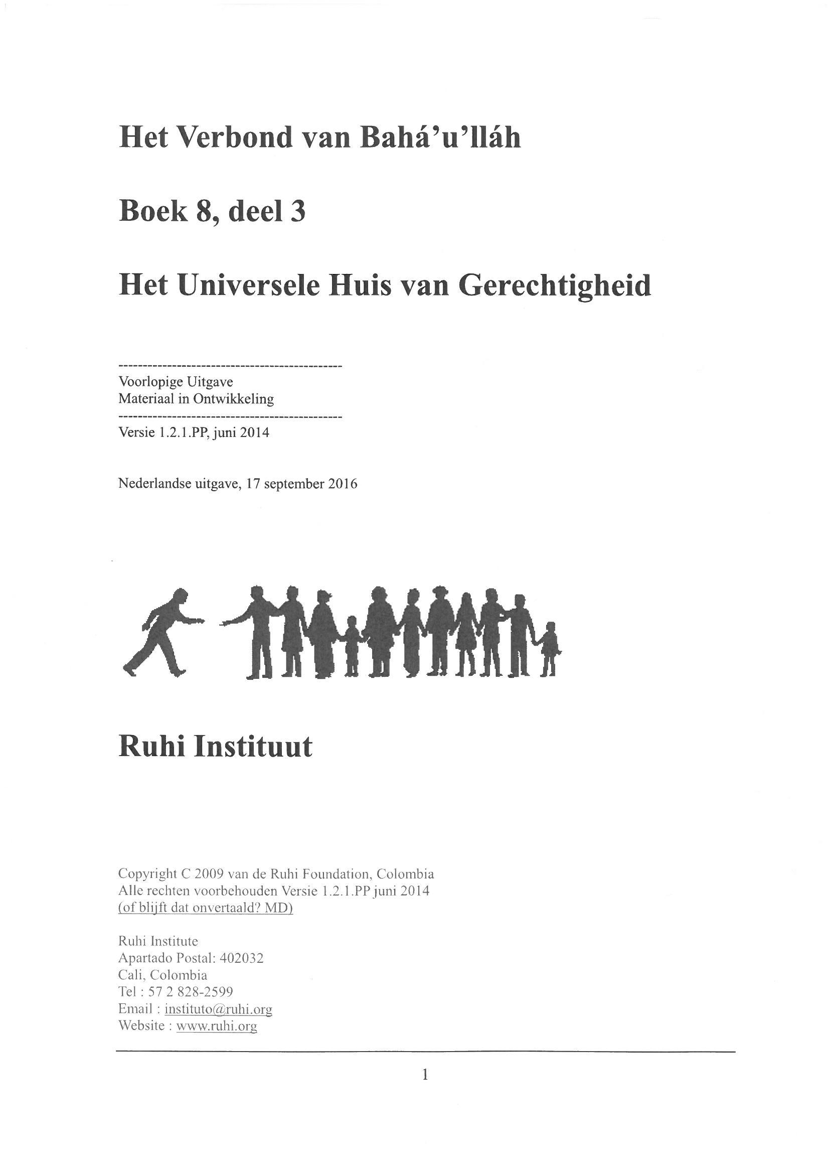 Ruhi - boek 8 deel 3