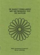 De Bahá'í-verklaring met betrekking tot de Natuur