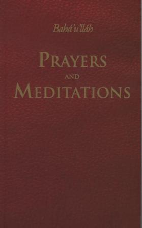 Prayers and Meditations paperback